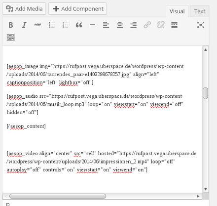 aesop_editor